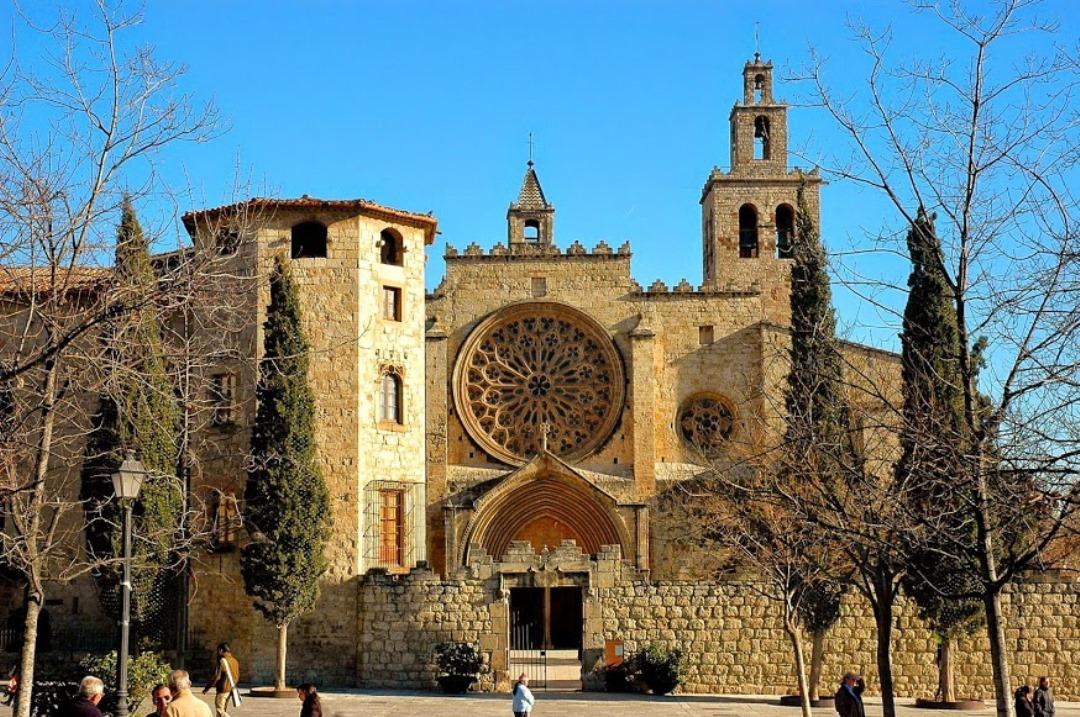 13 Mar The City Of The Monastery, Emblem Of Sant Cugat Del Valles